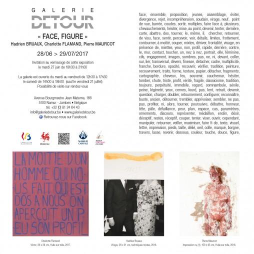 Galerie Detour - invitation